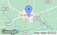 Map of Granger, TX