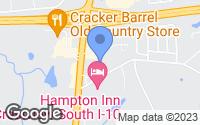 Map of Crestview, FL