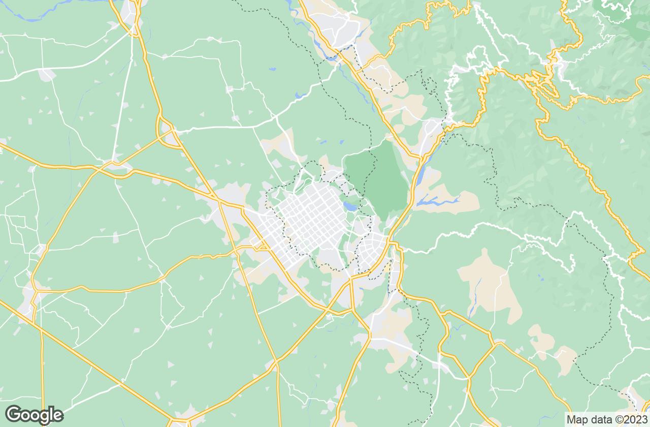 Google Map of Chandigarh