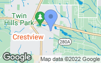 Map of Crestview, FL
