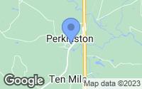 Map of Perkinston, MS