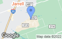 Map of Jarrell, TX