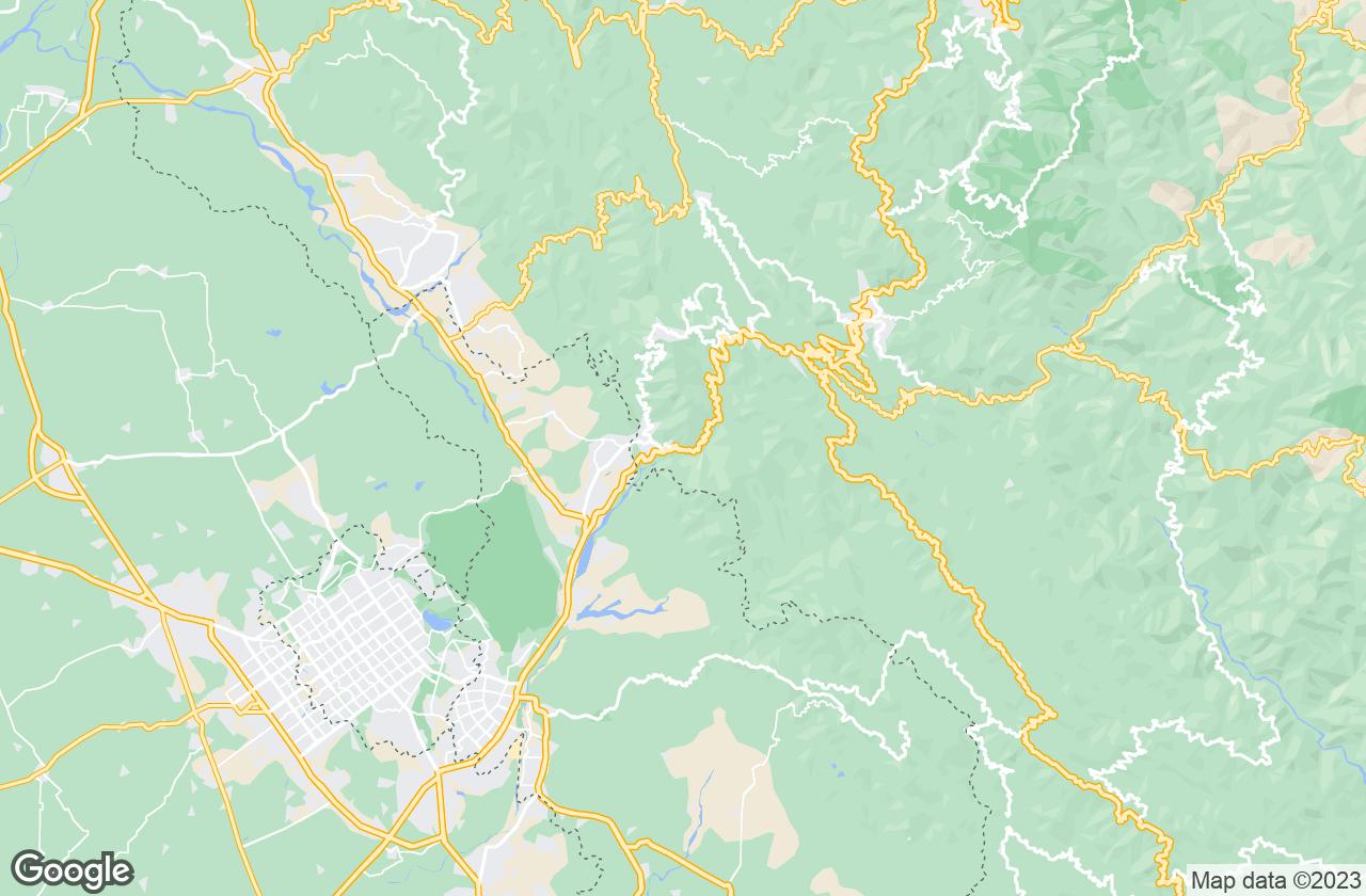 Google Map of Parwanoo