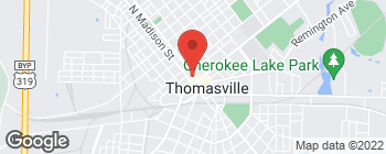Map of 125 N Broad St in Thomasville