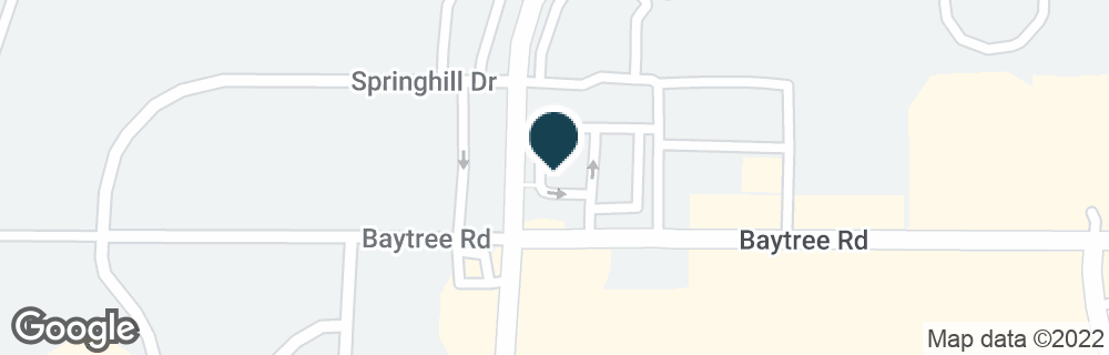 Google Map of1800 BAYTREE RD