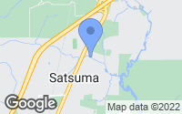 Map of Satsuma, AL