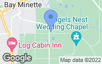 Map of Bay Minette, AL