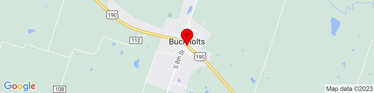 Google Map of 30.8729661, -97.1249919