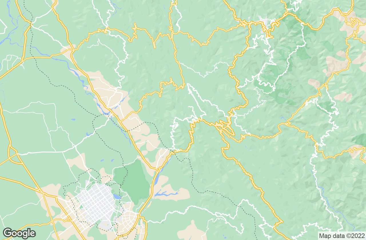 Google Map of Kasauli