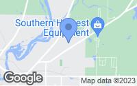 Map of Bainbridge, GA