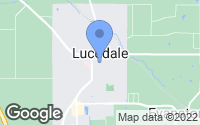 Map of Lucedale, MS
