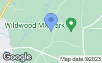 Map of Kentwood, LA