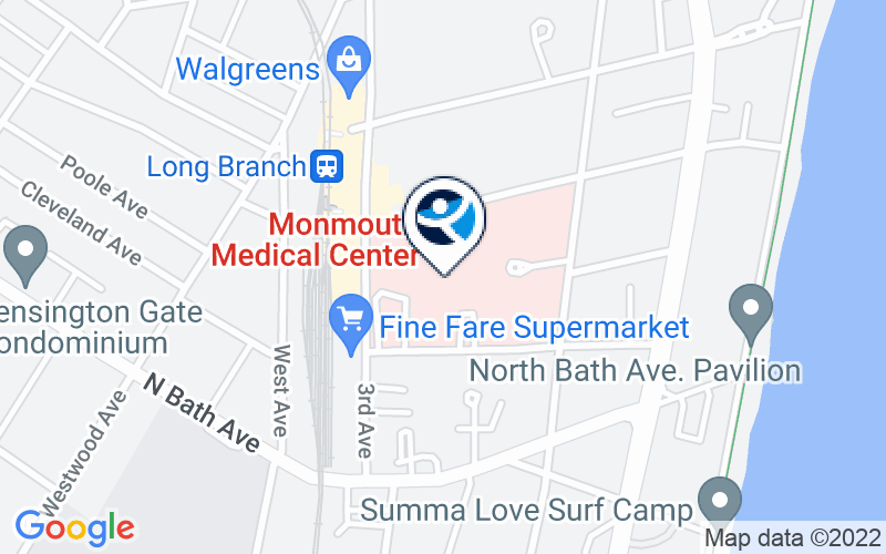 The Unterberg Children's Hospital at Monmouth Medical Center Location and Directions