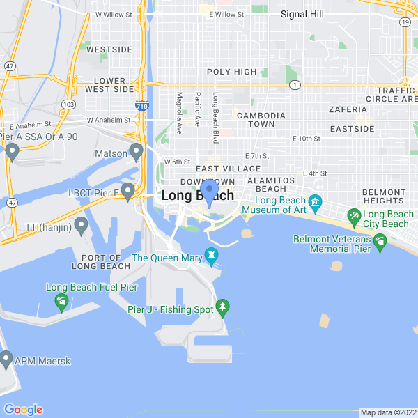 Long Beach Comic Con Map