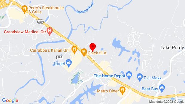Google Map of 300 Cahaba Park Circle Ste 130, Birmingham, AL 35242