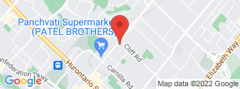 Google Map of 300+Dundas+St+E%2CMississauga%2COntario+L5A+1W9