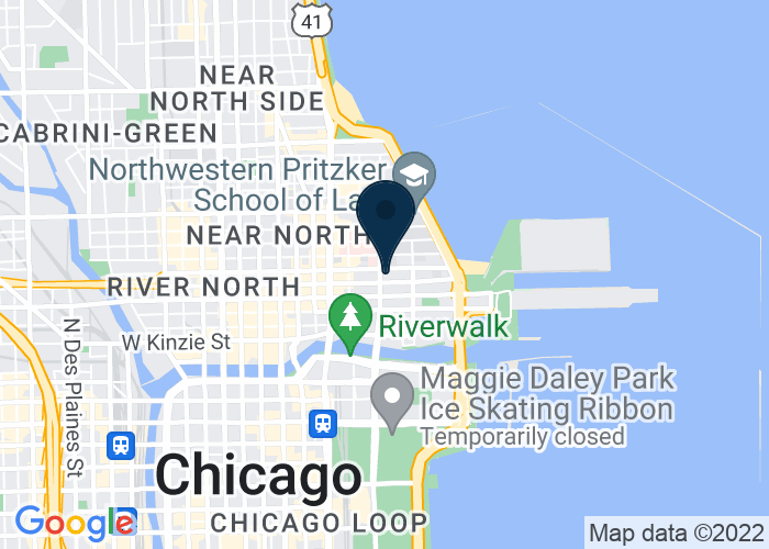 Map of 300 E Ohio St, Chicago, IL 60611, United States