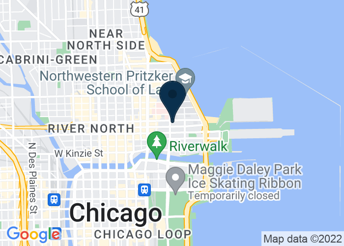 Map of 300 East Ohio Street, Chicago, IL 60611, United States