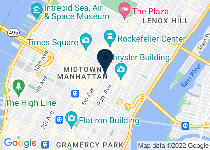 Map of 300 Madison Ave, New York City, NY 10017, United States