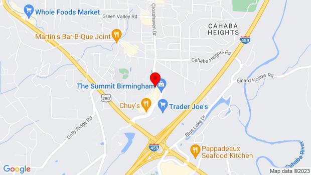 Google Map of 300 Summit Blvd , Birmingham, AL 35243