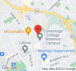Google Map of 300+Weber+Street+N%2CWaterloo%2COntario+N2J+3H6
