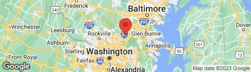 Map of 300 7TH STREET LAUREL, MD 20707