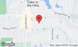 Map of 300 Buckingham Drive ALGONQUIN, IL 60102
