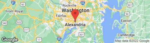 Map of 300 SAINT ASAPH STREET S ALEXANDRIA, VA 22314