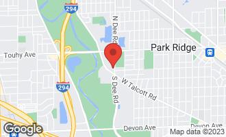 Map of 300 South Dee Road 2C PARK RIDGE, IL 60068