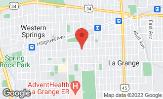 Map of 300 South Sunset Avenue LA GRANGE, IL 60525