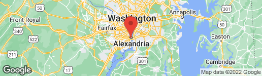 Map of 300 Washington Street South Alexandria, VA 22314