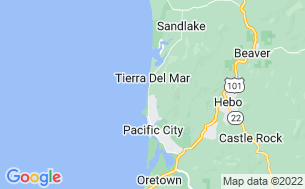 Map of Pacific City RV & Camping Resort