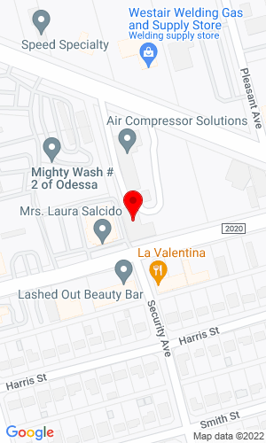 Google Map of Air Compressor Solutions, Inc. 3001 Kermit Hwy, Odessa, TX, 79764