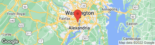 Map of 3001 EDGEHILL DRIVE ALEXANDRIA, VA 22302