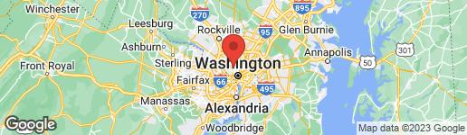 Map of 3001 VEAZEY TERRACE NW #532 WASHINGTON, DC 20008