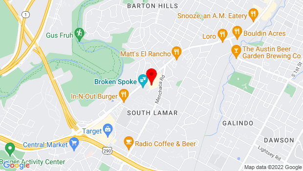 Google Map of 3005 S. Lamar Blvd., Austin, TX 78704