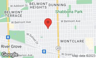 Map of 3009 North Osceola Avenue CHICAGO, IL 60707