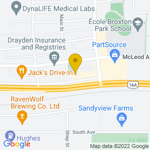 Map to The Cossack Inn   provided by Google
