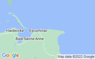 Map of Escuminac Beach & Family Park