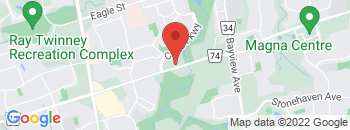 Google Map of 301+Mulock+Drive%2CNewmarket%2COntario+L3Y+5W2