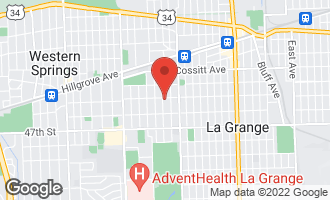 Map of 301 Blackstone Avenue LA GRANGE, IL 60525