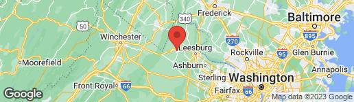 Map of 301 G STREET E PURCELLVILLE, VA 20132