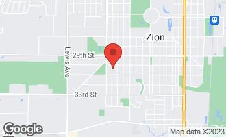 Map of 3011 Gilead Avenue ZION, IL 60099