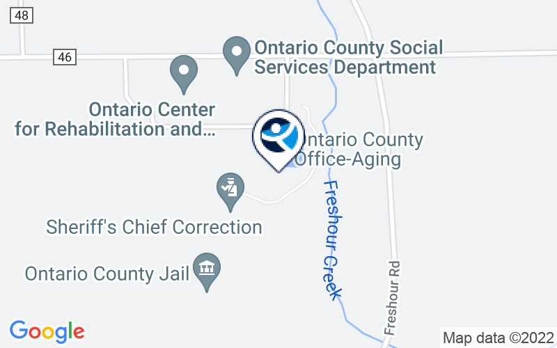 Ontario County Behavioral Health Center Location and Directions