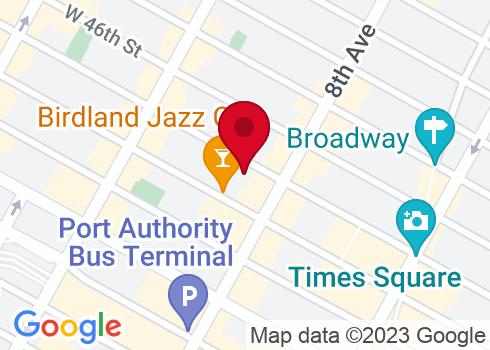 Al Hirschfeld Theatre Google Maps Location
