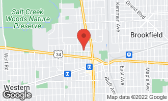 Map of 302 North Ashland Avenue LA GRANGE PARK, IL 60526