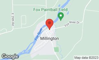Map of 302 Vine Street MILLINGTON, IL 60537
