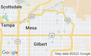 Map of Mesa Spirit RV Resort