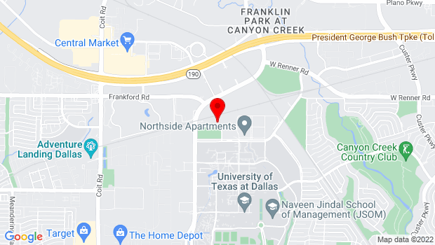 Google Map of 3020 Stewart Dr., Richardson, TX 75080