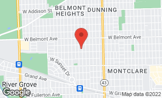 Map of 3022 North Olcott Avenue CHICAGO, IL 60707